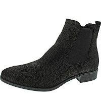 TAMARIS - Chelsea-Boots - black metallic
