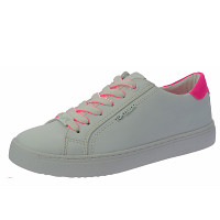 Tom Tailor - Sneaker - white-neon pink