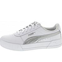PUMA - Carina L - Sneaker - white-silver-white