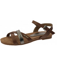 TOM TAILOR - Sandalette - camel