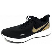 NIKE - Revolution 5 - Sneaker - black/met.gold