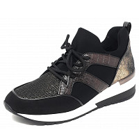 LA STRADA - La Strada - Sneaker - black/brown multi croco