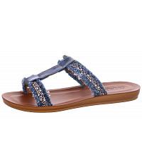LAUFSTEG MÜNCHEN - flache Sandaletten - blau