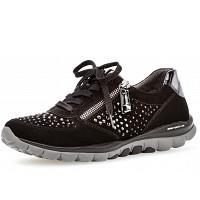 GABOR COMFORT - Roling Soft - Sneaker - schwarz strass