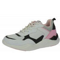 TOM TAILOR - Sneaker - white-black-rose