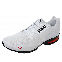 PUMA - VT Tech Mesh - Sneaker - white/red