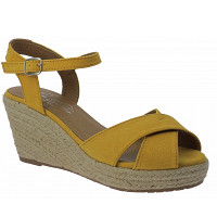 Tom Tailor - Keilsandalette - yellow