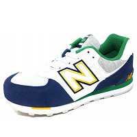 NEW BALANCE - GC 574 - Sneaker - navy-wht-grey