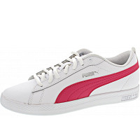 Puma - Smash Wns V2 L - Sneaker - white-bright rose