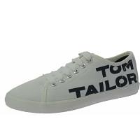 TOM TAILOR - Sneaker - white-navy