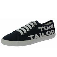 TOM TAILOR - Sneaker - navy-white