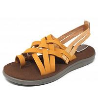 TEVA - Voya Strappy Leather - Sandale - sunflower
