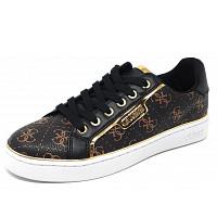 GUESS - Sneaker - brown/ black