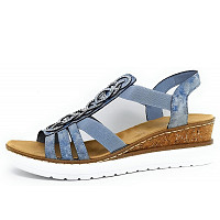 RIEKER - Sandale - blau