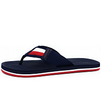 TOMMY HILFIGER - Corporate Beach Sandal - Pantolette - blau