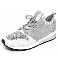 LA STRADA - La Strada - Sneaker - grey wool knitted