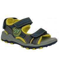 TOM TAILOR - Sandale - navy-grey-yellow