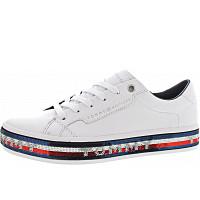 TOMMY HILFIGER - Foxing Dress Sneaker - Sneaker - white