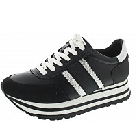 Tamaris - Sneaker - BLACK/SILVER
