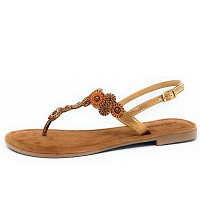 LAZAMANI - Sandale - braun