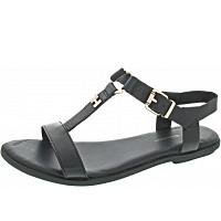 TOMMY HILFIGER - Feminine Flat Sandal - Sandale - black