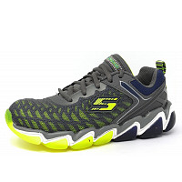 SKECHERS - Downplay - Sneaker - grey/lime