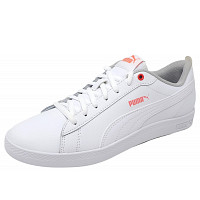 Puma - Smash - Sneaker - white/rose