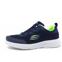 Skechers - Dynamight - sportlicher Schnürer - blau