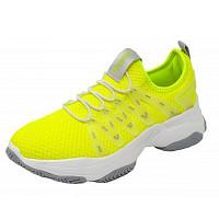 DOCKERS - Sneaker - hellgrün/ gelb