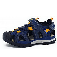 GEOX - Borealis - Sandale - blau/gelb