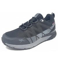 KangaRoos - Sneaker - jet black steel grey