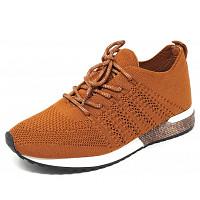 LA STRADA - La Strada - Sneaker - brown knitted