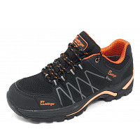 KASTINGER - Evertrek - Trekkingschuh - black - orange