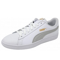 PUMA - Smash V2 - Sneaker - white/grey