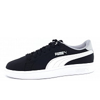 Puma - Smash v2 buck JR - Sportschuh - black/white
