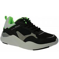 TOM TAILOR - Sneaker - black-lime