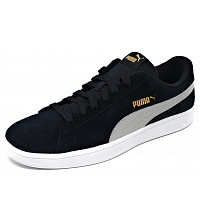 PUMA - Smash V2 - Sneaker - black/grey