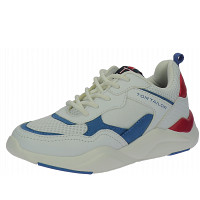 TOM TAILOR - Sneaker - white-blue-red