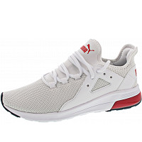PUMA - Electron Street - Sneaker - white-high risk red