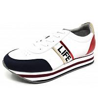 JANE KLAIN - Sneaker - navy white red