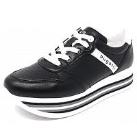 BUGATTI - Lian - Sneaker - black/white