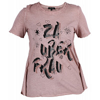 LAUFSTEG MÜNCHEN - T-Shirt Damen - rose