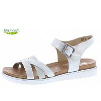 REMONTE - bequeme Sandale - weiß
