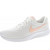 NIKE - Wmns Tanjun - Sneaker - white-coral