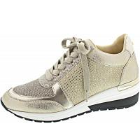La Strada - Sneaker - gold cracked