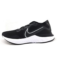 NIKE - Renew Run - Sportschuh - black/white