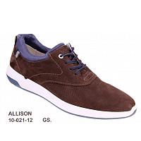 LLOYD - Allison choco/blau - Sneaker - CHOCOLATE/NEW O CEAN