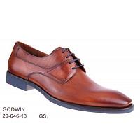 LLOYD - Godwin cognac GS - eleganter Schnürer - COGNAC