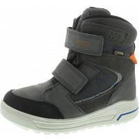 Ecco - Urban Snowboarder - Klettstiefel - BLACK/DARK SHADOW