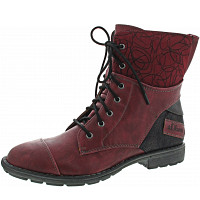 S.OLIVER - Schnürboots - dark red